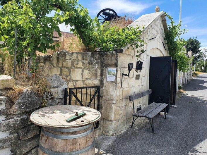 Gasthaus in der Kellergasse von Purbach