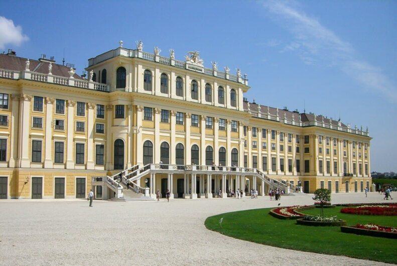 Blick auf Schloss Schönbrunn