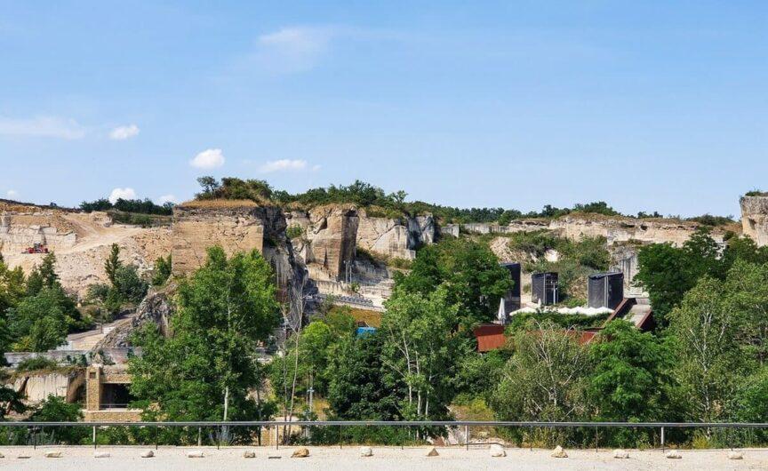 Blick auf den Steinbruch St. Margarethen