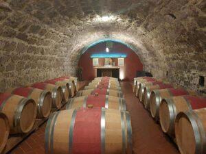 Weinkeller der Pension Zum Seeblick