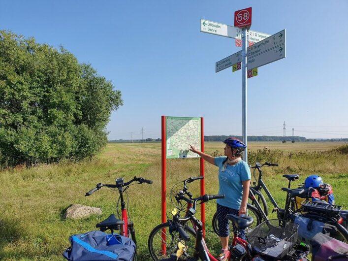 E-Bikes an den Knotenpunkten von Radeln nach Zahlen