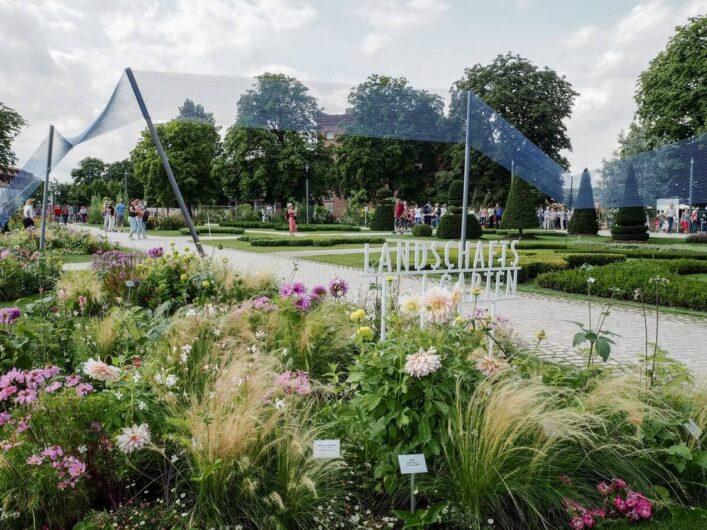 Landschaftsgarten auf dem Gelände am Petersberg Erfurt