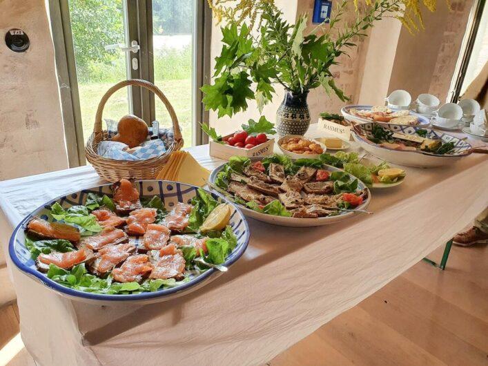 Lunch mit Bismarckhering im Brauhaus