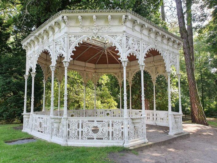 Pavillon im Stadtpark Tangerhütte